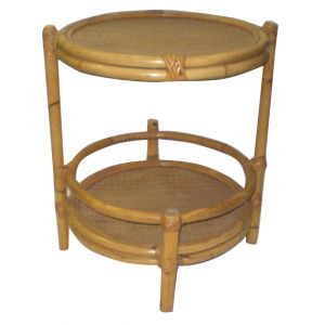 Table d'appoint Ronde Bamboo