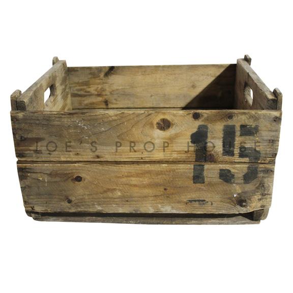 Caisse en bois Vintage No.15 Large
