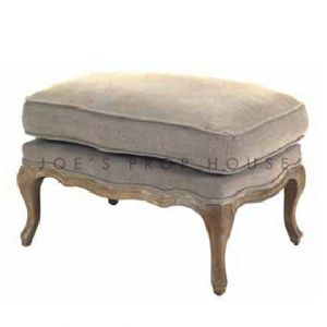 Bergere Ottoman Clay