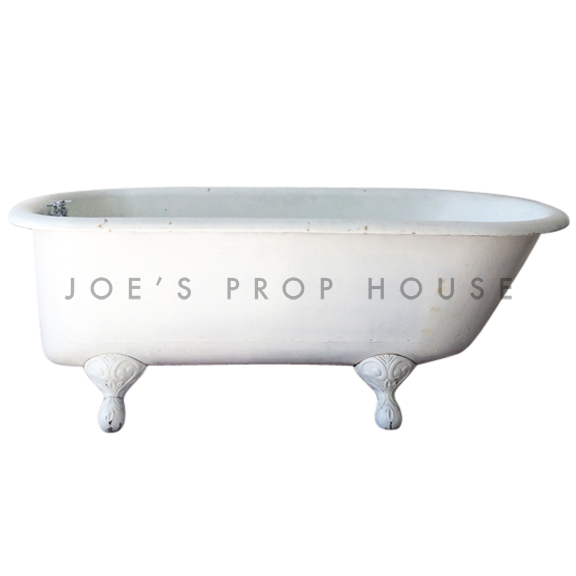 Cast Iron Clawfoot Tub White