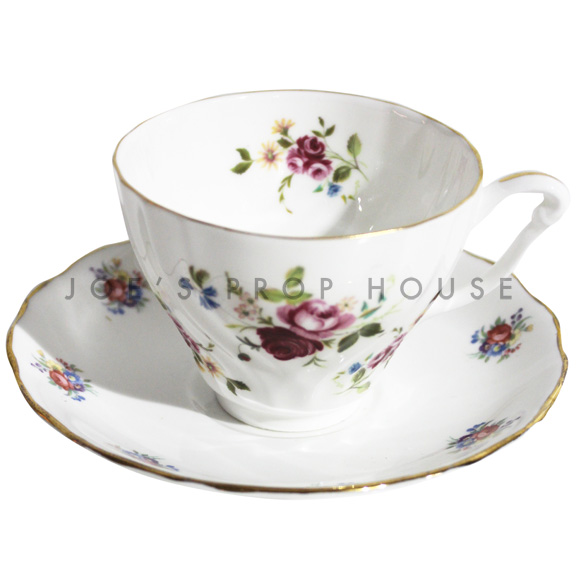 Becca Floral Teacup and Saucer