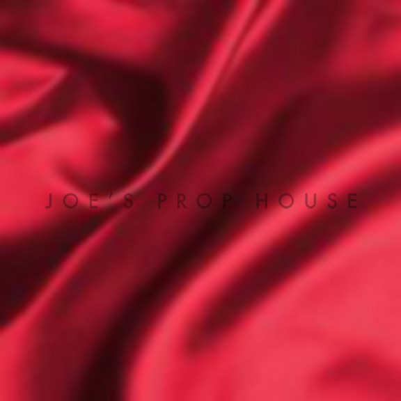 Red Satin Draping