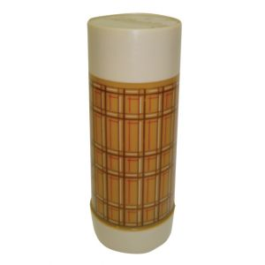 Tall Thermos Plaid