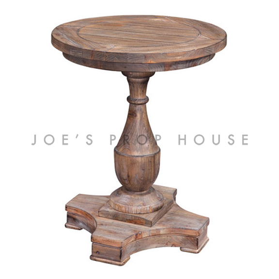 hitchcock-ronde-piédestal-table