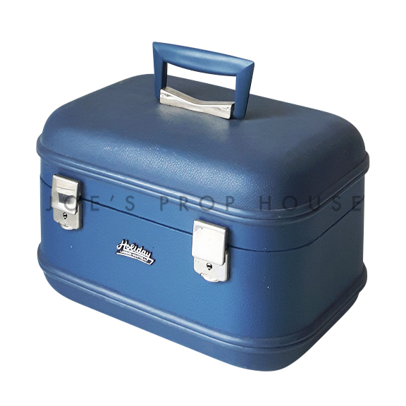 HOLIDAY Harshell Vanity Case Blue
