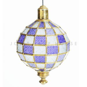 Patchwork Lantern Purple