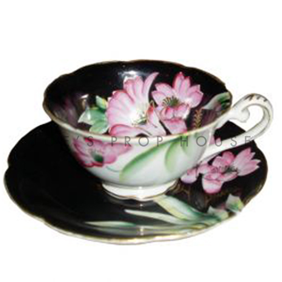Richmond Floral Teacup and Saucer