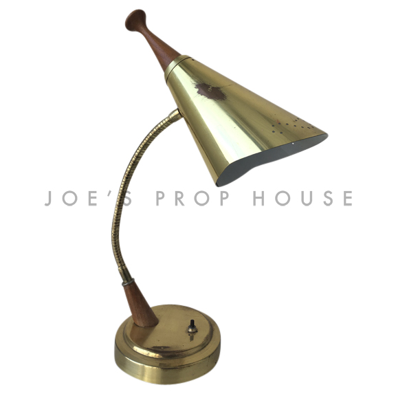 Wally METAL Cone Gooseneck Desk Lamp