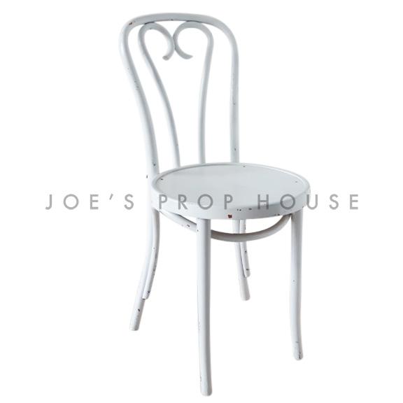 Brentwood Chaise en Bois Blanc