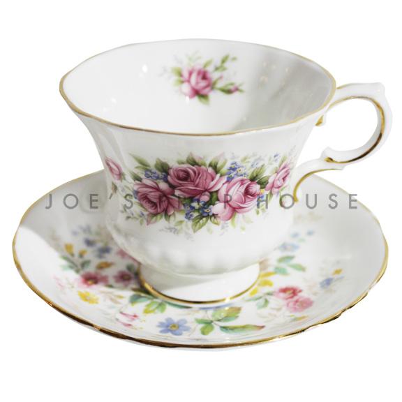 Jessica Tasse à thé et soucoupe