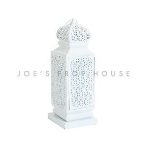 Small Taj Lantern White