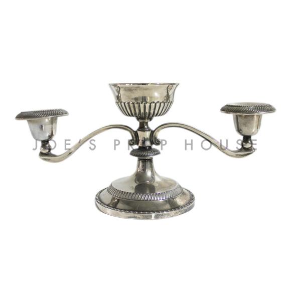 Roland Three Branch Silver Candlestick