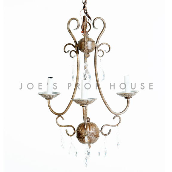 Aurora 3-Branch Chandelier