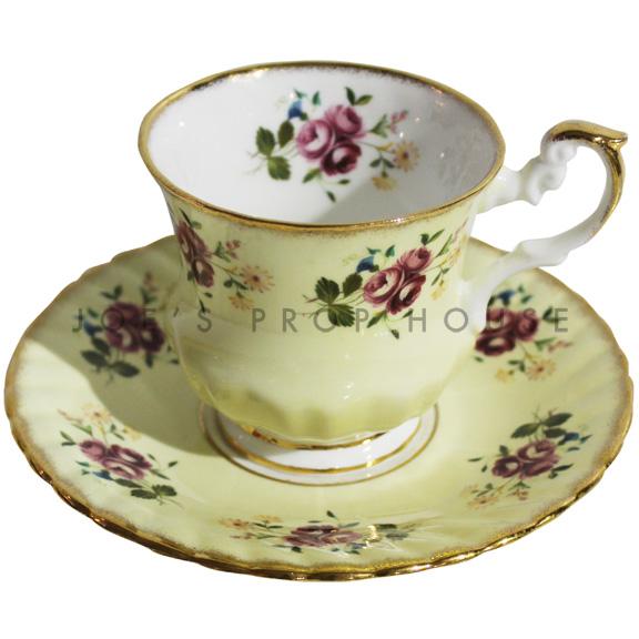 Tasse à thé et soucoupe Agnes Floral