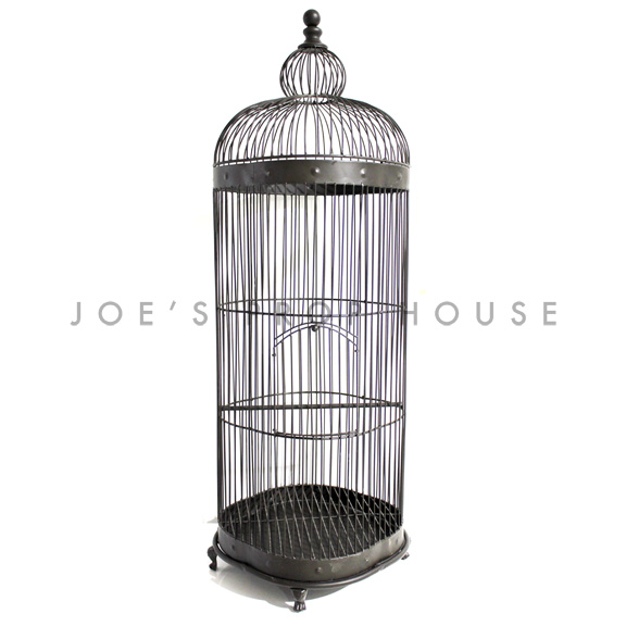 Lawrence Extra Large Metal Birdcage Bronze