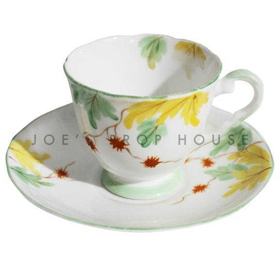 Tasse à thé et soucoupe à fleurs Valery