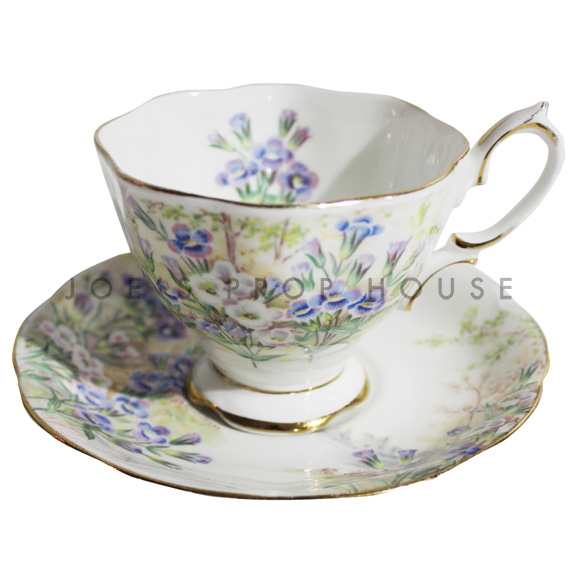 Betty Floral Teacup and Saucer