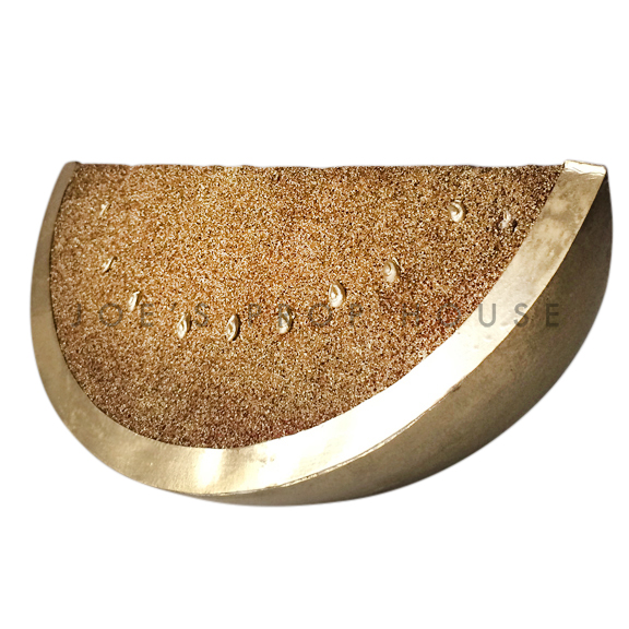 Artificial GOLD Watermelon Wedge