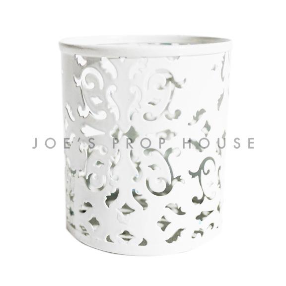 Patton Lasercut Votive Cups White