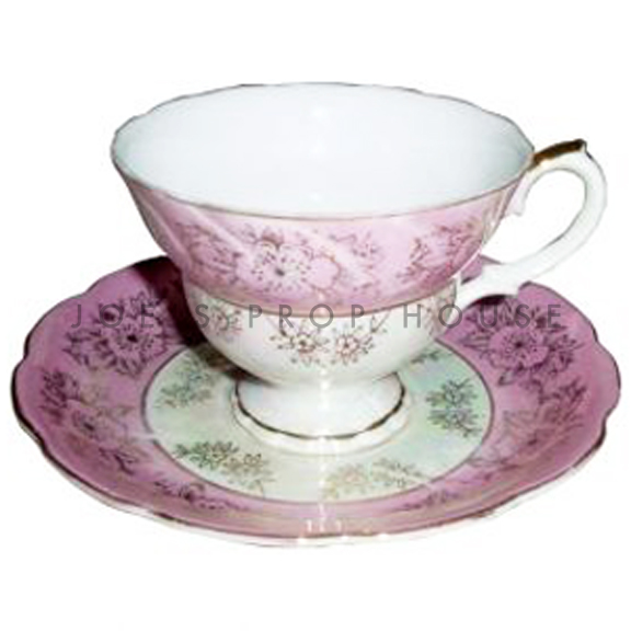 Pamela Floral Teacup and Saucer