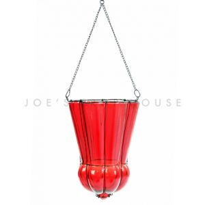 Amina Hanging Lantern Red