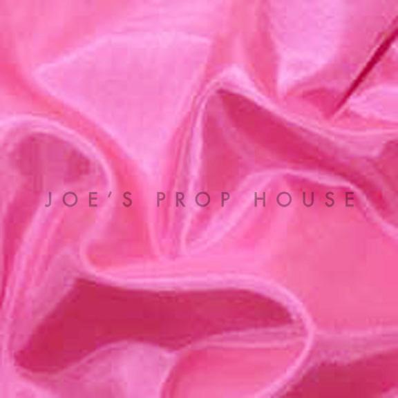 Pink Satin Linen
