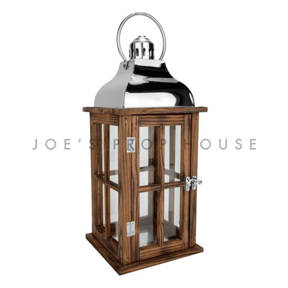 Wood Cottage Lantern Small