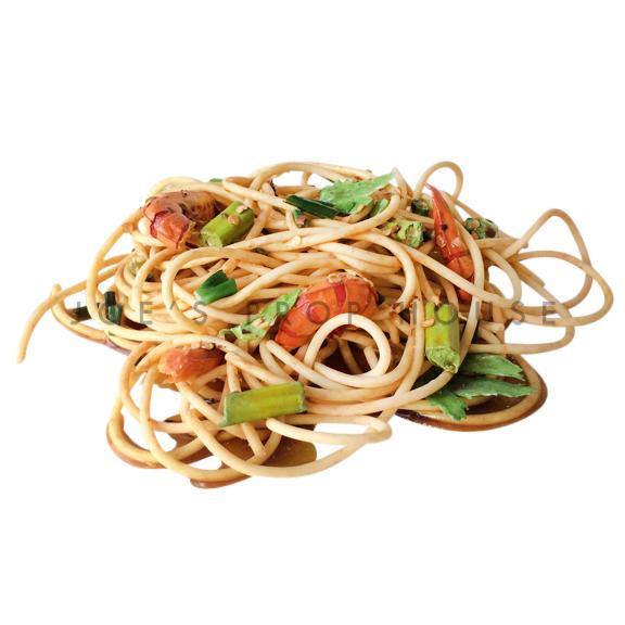 Seafood Spaghetti Food Prop