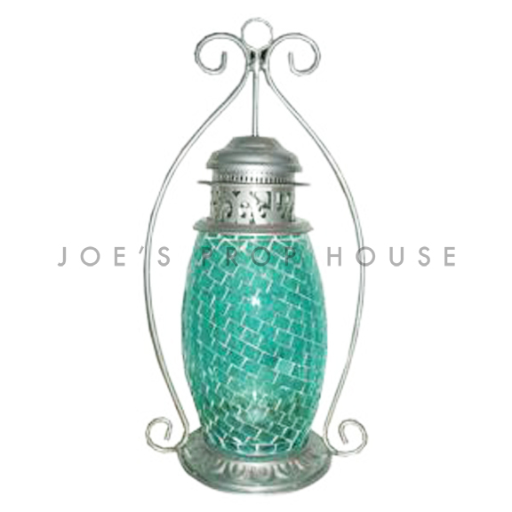 Mosaic Glass Lantern