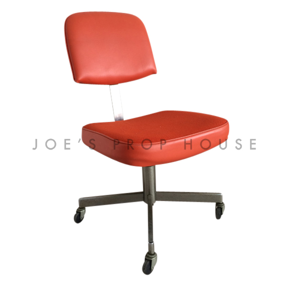 Oslo Swivel Office Desk Chair Orange