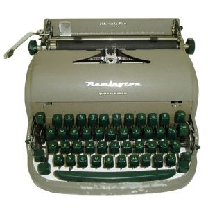 Remington Manual Typewriter Grey