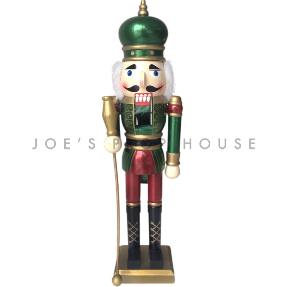 Emeril Green Crown Nutcracker