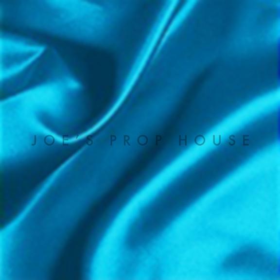 Turquoise Satin Draping