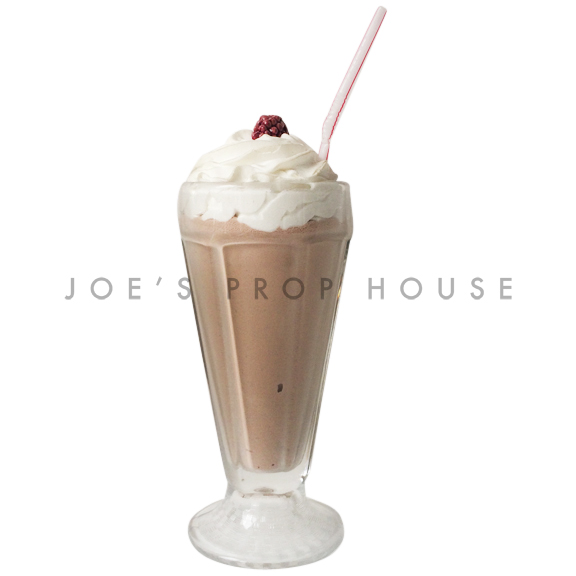 Chocolate Milkshake Drink Prop