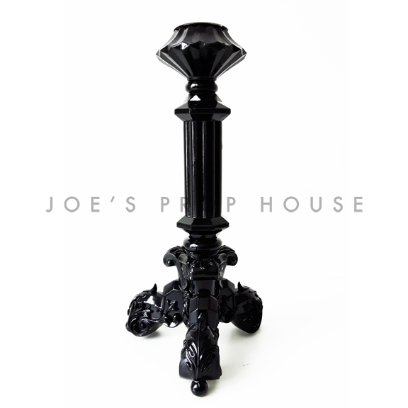 Lucinda Tapered Candlestick Black