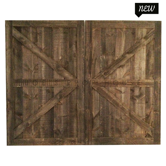 Self-Standing Barn Doors Double W10ft x H8ft
