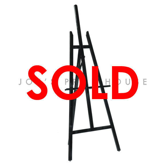 BUY ME / USED ITEM $25.99 each Wooden Easel Stand Black