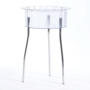 Acrylic Round End Table