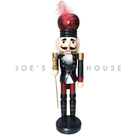 Geoffrey Red Feather Nutcracker