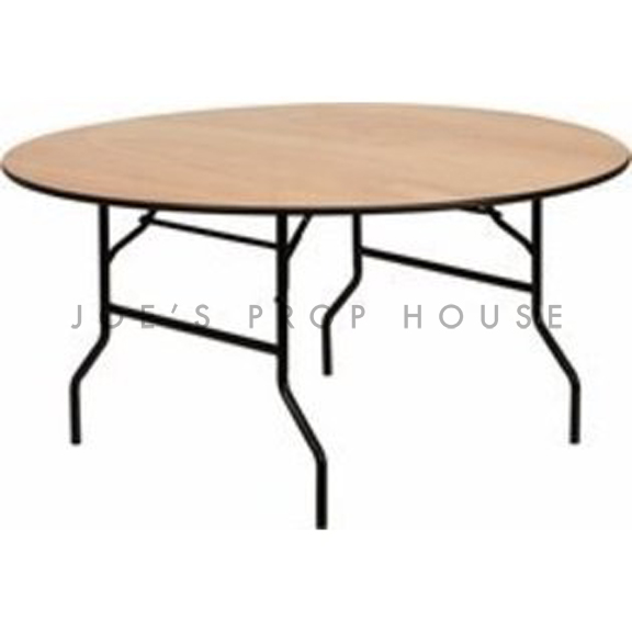 60in Round Folding Dining Table
