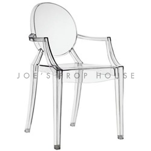 Ghost Armchair Clear