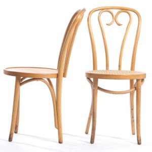 Bentwood Sweetheart Café Chairs
