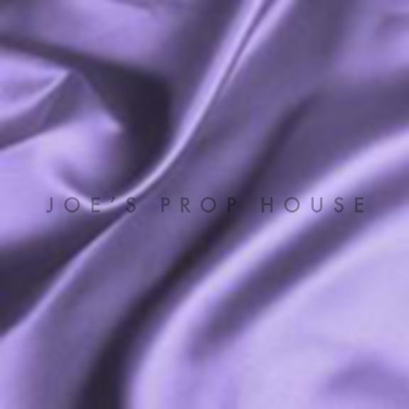 Lilac Satin Draping
