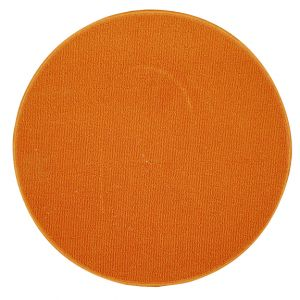 Tapis Rond Orange $5.00