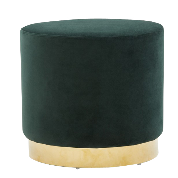 Madison Velvet Sofa Emerald Green