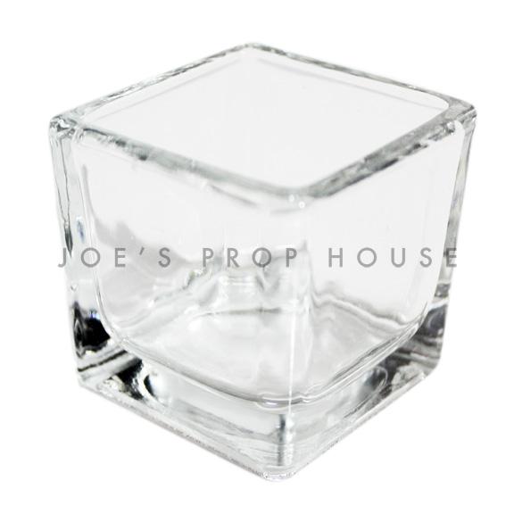 petites coupelles en verre-carré-votif