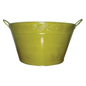 Green Metal Bucket