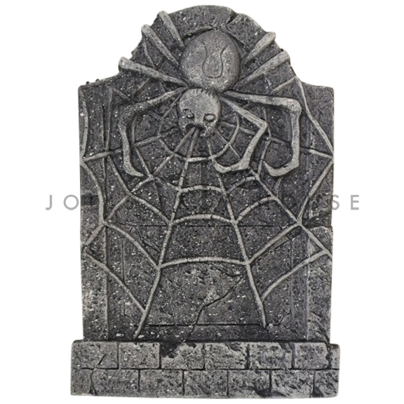 Spider Foam Tombstone Charcoal