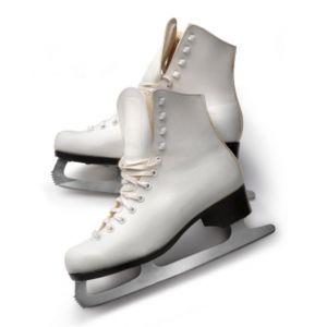 Womens Figure Skates White