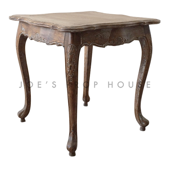 Antoine Square End Table Burnt Oak